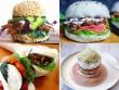 """Giới trẻ """"phát sốt"""" với burger nhân sushi kiểu mới"""