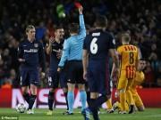 """Bóng đá - """"Mưa"""" thẻ vàng màn so găng Barca - Atletico"""