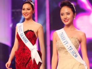 """Thời trang - Cô gái Đà Nẵng cao 1m80 """"tái xuất"""" ở Hoa khôi Áo dài"""