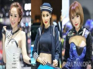 Ô tô - Xe máy - Triển lãm xe Thái Lan: Người đẹp không làm tăng bán xe