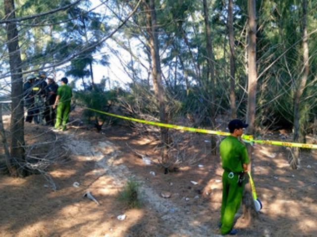 Phong tỏa, khám nghiệm nơi chôn thi thể bé trai bị bắt cóc