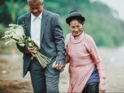 Gặp hai cụ già nhặt rác trong bộ ảnh cưới thế kỷ