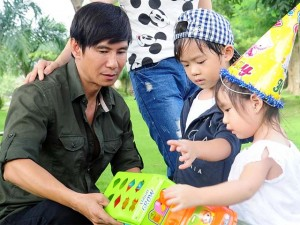 Phim - Con trai Lý Hải trổ tài diễn xuất trong phim 15 tỷ