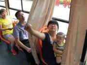 """Phi thường - kỳ quặc - Xe buýt có ghế dành riêng cho """"bà mẹ bỉm sữa"""""""