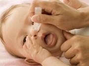 Sức khỏe đời sống - Uống nhầm thuốc nhỏ mũi Naphazolin, bé 2 tuổi nguy kịch