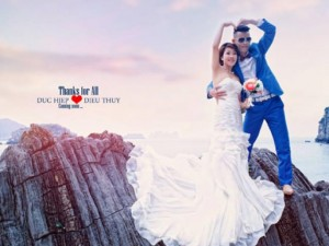 Đời sống Showbiz - Ảnh cưới lãng mạn của Hiệp Gà với người vợ thứ 3