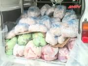"""Thị trường - Tiêu dùng - Gần 1 tấn """"thịt bẩn"""" suýt về Hà Nội"""