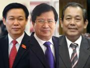Tin tức trong ngày - Thủ tướng đề cử 3 Phó Thủ tướng mới