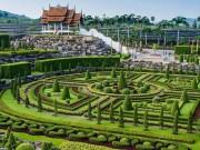 Choáng ngợp vẻ đẹp vườn nhiệt đới lớn nhất Đông Nam Á