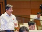 Nhiều đại biểu không đồng ý miễn nhiệm Bộ trưởng Bùi Quang Vinh