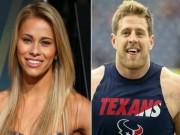 """Thể thao - Người đẹp UFC hẹn hò """"gã khổng lồ"""" bóng bầu dục"""