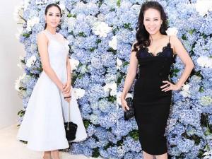 Thời trang - Thu Minh gợi cảm, Phạm Hương kín đáo đối lập tại sự kiện