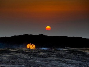 """Thế giới - Cuộc sống ở """"cổng địa ngục"""" nóng 50-60 độ C"""