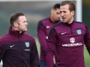 """Bóng đá - Kane & Vardy chưa đủ tầm """"qua mặt"""" Rooney ở ĐT Anh"""