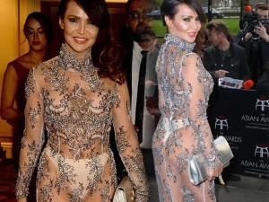 Thời trang - Người mẫu Anh mặc như không trên thảm đỏ sự kiện