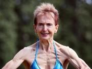 Sức khỏe đời sống - Cụ bà 73 tuổi chăm tập thể hình để chống lão hóa