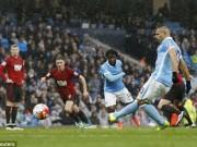 Bóng đá - Man City – West Brom: Hú hồn phút bù giờ