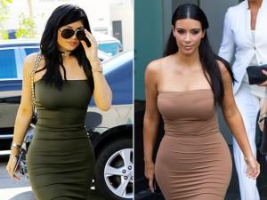 Thời trang - Em út cô Kim Kardashian chuyên mặc lại mốt của chị