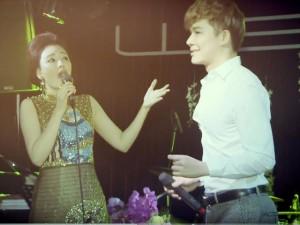 Hồ Quỳnh Hương ngẫu hứng hát opera cùng Nathan Lee