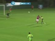 Bóng đá - Cú vô lê bằng gót khiến Ibrahimovic cũng phải ngả mũ