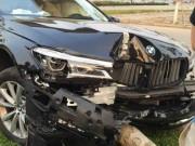 Tin tức trong ngày - Khách lái thử làm xe sang BMW tan nát vì đâm gãy cây xanh