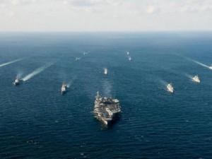 Thế giới - Biển Đông căng thẳng, tàu chiến Nhật rầm rộ đến Indonesia