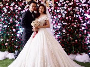 Thúy Diễm xinh như công chúa trong ngày làm cô dâu