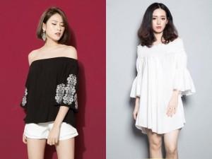 Thời trang - Thiếu nữ Việt mặc áo trễ vai thế nào?