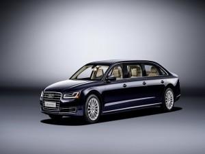 Audi A8 L sáu cửa - Phiên bản dành cho Hoàng gia
