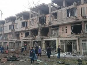 Xác định vật liệu gây ra vụ nổ kinh hoàng ở KĐT Văn Phú