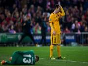 Bóng đá - Lời nguyền Champions League lại ứng nghiệm với Barca