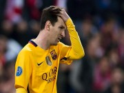 """Bóng đá - Góc chiến thuật Atletico - Barca: """"MSN"""" bị khóa chặt"""