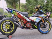 """Ô tô - Xe máy - Yamaha Exciter 150 độ """"khủng"""" tại Hà Nội"""