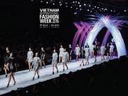 """Video An ninh - """"Rừng"""" chân dài của Tuần lễ thời trang Quốc tế VN 2016"""