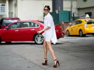 Váy sơ mi: Đẹp từ công sở đến đường phố