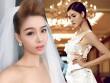 Kỳ Hân đẹp lộng lẫy khi mặc váy cô dâu