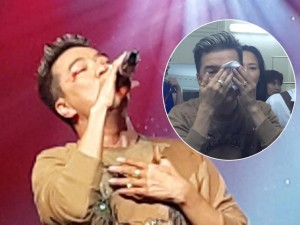 Ca nhạc - MTV - Mr. Đàm gặp tai nạn chảy máu mắt trên sân khấu