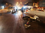 Tin tức trong ngày - Cô gái thoát chết sau cú đâm kinh hoàng ở giao lộ