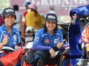 Thể thao - Chuyện cảm động trên đường đua mô tô tốc độ nữ