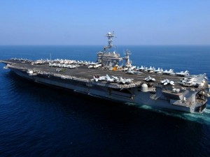 Thế giới - Bộ trưởng Quốc phòng Mỹ thăm tàu sân bay trên Biển Đông