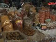 Video An ninh - Tràn ngập ruốc siêu bẩn, siêu rẻ tại thị trường Huế