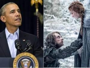 """Phim - Tổng thống Obama xem trước """"Trò chơi vương quyền 6"""""""