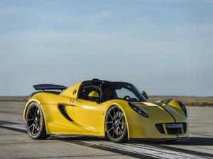 """Ô tô - Xe máy - Hennessey tung Venom GT Spyder """"siêu xe mui trần nhanh nhất thế giới"""""""