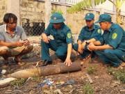 Tin tức trong ngày - Quảng Trị: Đầu đạn pháo từ trên trời rơi xuống vườn