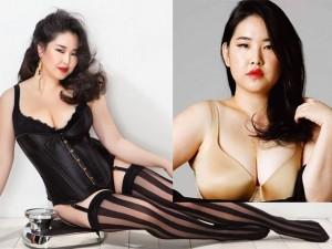 Thời trang - Vẻ đẹp siêu sexy của nàng mẫu béo duy nhất Hàn Quốc