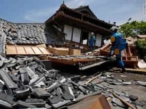 29 người chết, 1500 bị thương sau động đất 7,3 độ ở Nhật