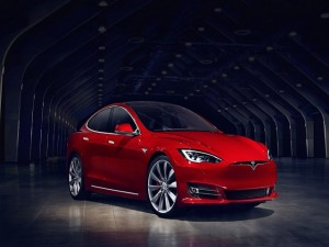 Chi tiết mẫu xe Tesla Model S bản nâng cấp