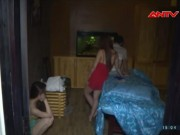 Video An ninh - Bắt tại trận tiếp viên massage VIP đang chiều khách