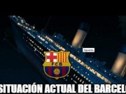 Bóng đá - Barca tụt dốc như con tàu đắm Titanic