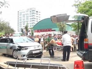 Tin tức Việt Nam - Hé lộ nguyên nhân vụ taxi lao xuống hồ, 4 người chết